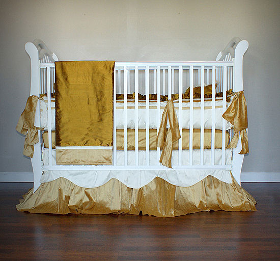 Olena Boyko Ella 3 Piece Crib Bedding Set