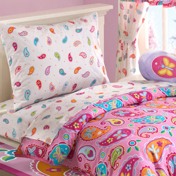 Paisley Dreams Toddler Bed Set - The Frog and the Princess