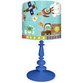 Oopsy Daisy Alien Invasion Lamp Shade and Base