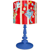 Oopsy Daisy Big Top Alphabet Lamp Shade and Base