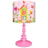 Oopsy Daisy Bloomin Birdies Lamp Shade and Base