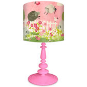 Oopsy Daisy Counting Sheep Pink Lamp Shade & Base
