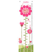 Afternoon Gossip Pink and Green Growth Chart
