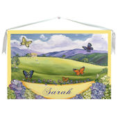Butterfly Canvas Wall Hanging