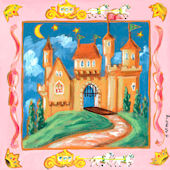 Storybook Castle Canvas Wall Art