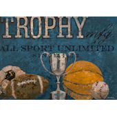 Trophy MFG Wall Canvas Art