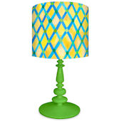 Oopsy Daisy Moroccan Painted Pattern Lamp