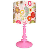 Oopsy Daisy Pretty Flowers Lamp Shade and Base