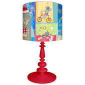 Oopsy Daisy Robots Lamp Shade and Base