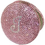Pink Personalized Bling Compact