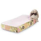 Bunny Ballet  Luxury Changing Pad Cover