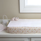 Sweet Pea Luxury Changing Pad Cover