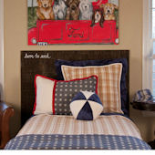 Boys R Back Bedding Set