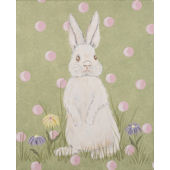Hippity Hop Canvas Wall Art