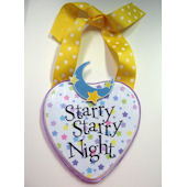 Ribbon Made Starry Starry Night Door Hanger