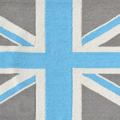 Rug Market Union Jack Grey Rug