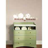 Athlete In Training Peel and Stick Wall Decal