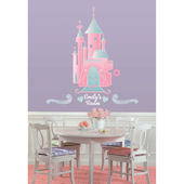 Disney Princess Castle with Personalization Decal