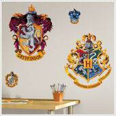 Harry Potter Hogwarts Crest Giant Wall Stickers