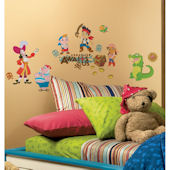 Jake and The Neverland Pirates Wall Stickers