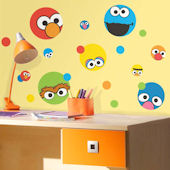 Sesame Street Dot Peel and Stick Wall Decals