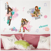 Shake It Up Wall Stickers