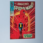 Spider Man Walking Away Comic Book Cover Sticker