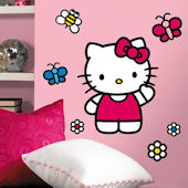 World of Hello Kitty Giant Wall Sticker