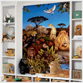 Jungle Animals XL Wall Mural