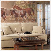 Misty River  XL Wall Mural