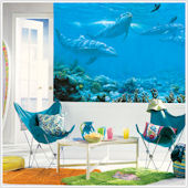Dolphins XL Wall Mural