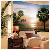 Palm Trees  XL Wall Mural