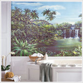 Tropical Lagoon XL Wall Mural