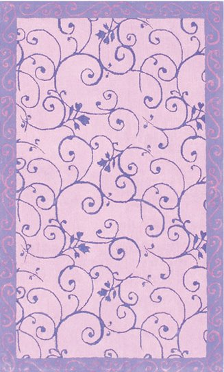 Disney Purple Fairy Area Rug