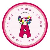 Candy Machine Personalized Plate
