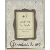 Grandma and Me Damask  Picture Frame