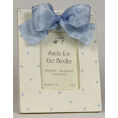 Simple Dots Blue Picture Frame