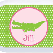 Alligator Gal Lunchbox Faceplate