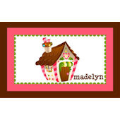 Gingerbread Personalized Placemat