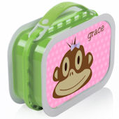 Monkey Girl Lunchbox