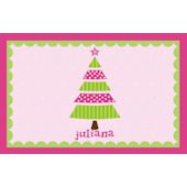 Whimsical Pink Tree Personalized Placemat