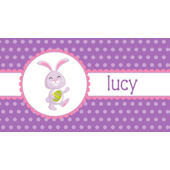Purple Bunny Placemat