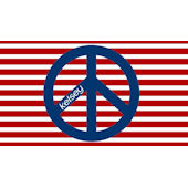 Sweet Madys Red White And Peace Placemat