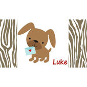 Sweet Madys Puppy Love Placemat