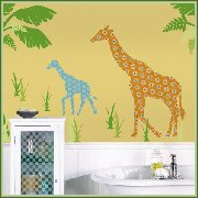 Wall Pops Zoo Wallogy Stickers