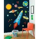 Wallies Out of This World Big Wall Mural