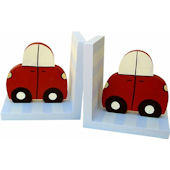Wish Upon A Star Cars Bookends