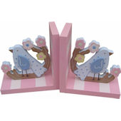 Wish Upon A Star Cherry Blossom Birdie Bookends