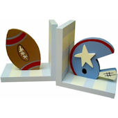 Wish Upon A Star Football  Bookends