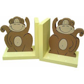 Wish Upon A Star Monkey Bookends